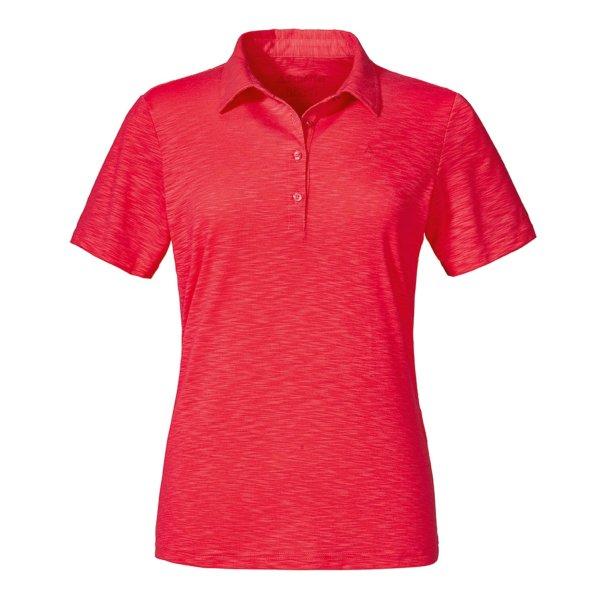 SCHÖFFEL Polo Shirt Capri1 FRAUEN lollipop (11945_2003) GER/ITA - 38/44