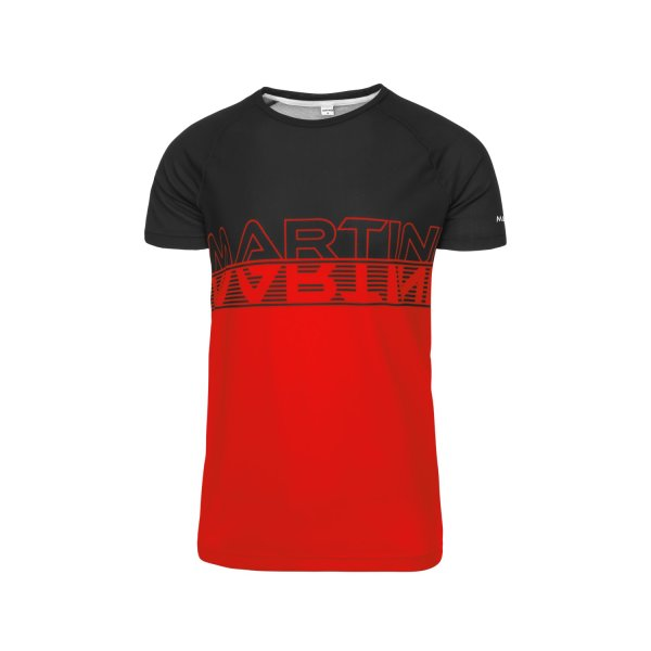 MARTINI SHIRT RADICAL HERREN spicy red/black (970-MI20_1402/10) M