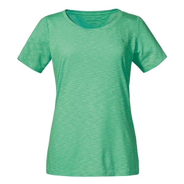 SCHÖFFEL T-Shirt Verviers2 FRAUEN spring bud (11946_6113) GER/ITA - 38/44