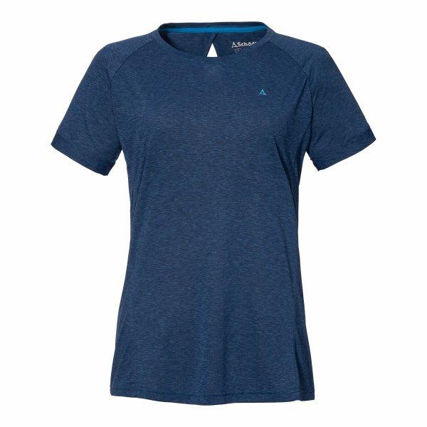 SCHÖFFEL T Shirt Boise2 L DAMEN dress blues (12667_8180) GER/ITA - 46/52