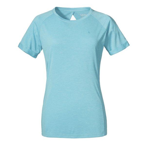 SCHÖFFEL T Shirt Boise2 L DAMEN angel blue (12667_8640) GER/ITA - 38/44