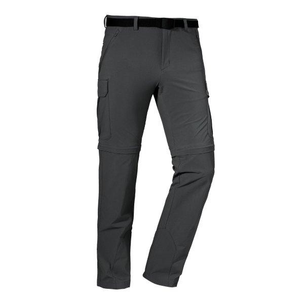 SCHÖFFEL Pants Kyoto3 HERREN asphalt (22839_9830) GER/ITA 56