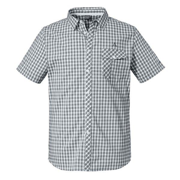 SCHÖFFEL Shirt Miesbach4 SH HERREN castlerock (22872_9007) GER/ITA 48