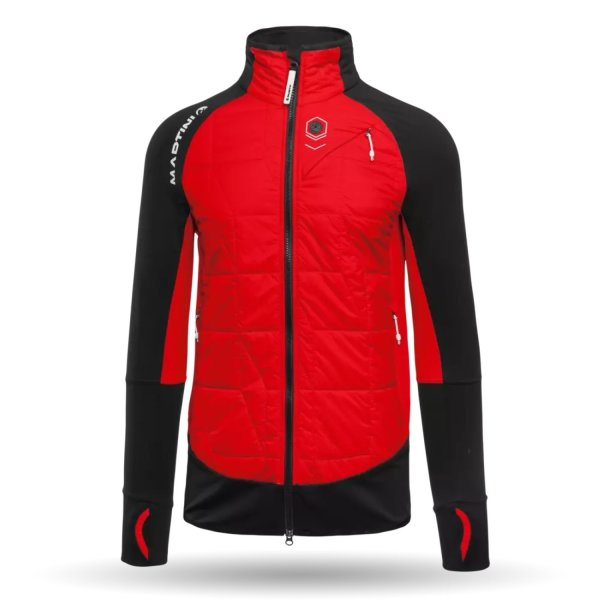 MARTINI JACKET PREFERENCE HERREN spicy red/black (432-TY89_1402/10)