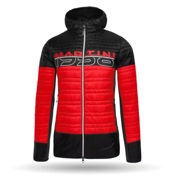 MARTINI JACKET XPERIOR HERREN spicy red/black (437-7470_1402/10)