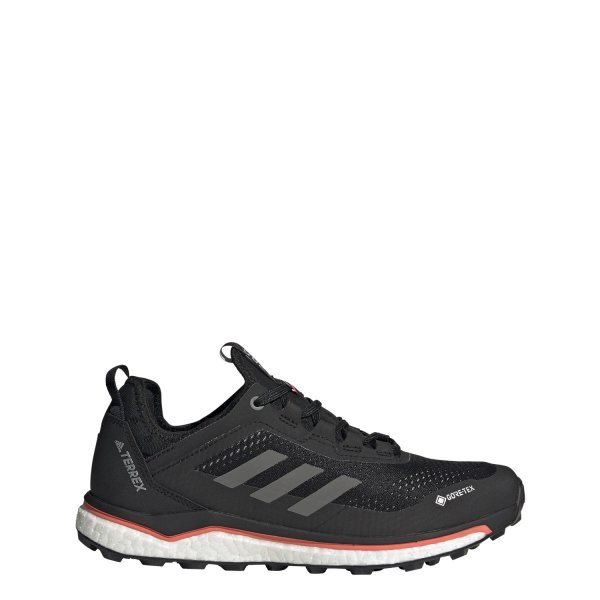 ADIDAS TERREX AGRAVIC FLOW GTX W SCHUHE FRAUEN core black/grey four/signal pink (FV2481) EUR 39¹/3 - UK 6