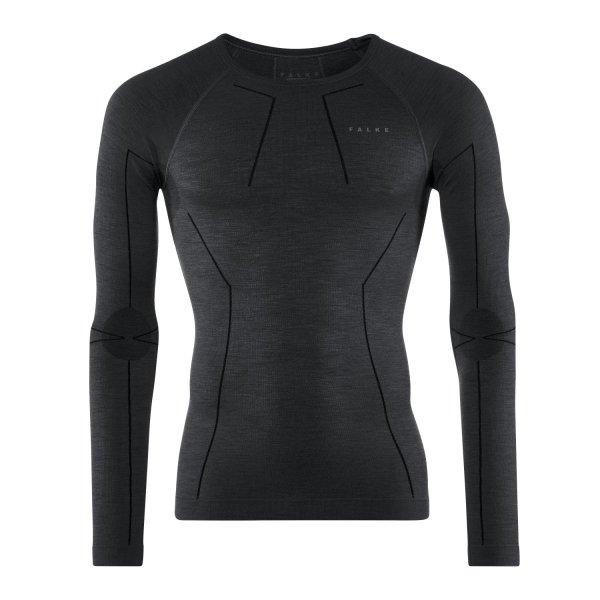 FALKE Herren Langarmshirt Wool-Tech black (33411_3000)