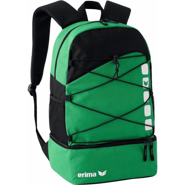 ERIMA Multifunktionsrucksack mit Bodenfach emerald/black (723342)