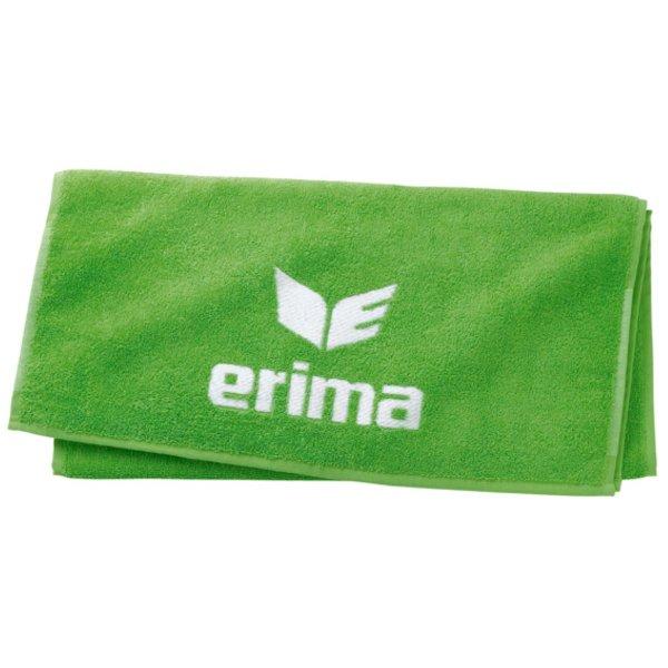 ERIMA Handtuch 50x100cm white/green (124820) 1