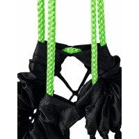 ERIMA Ballnetz für 10 Bälle black/green (723001) 00