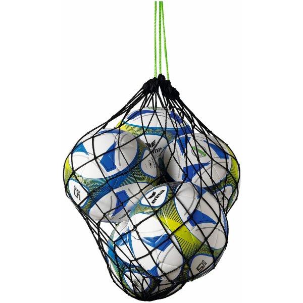 ERIMA Ballnetz für 5 Bälle black/green (723002) 00