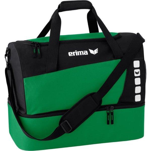 ERIMA Sporttasche mit Bodenfach emerald/black (723337) M