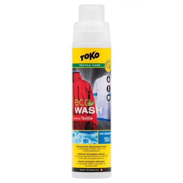 TOKO Eco Textile Wash 250ml - Ökologisches Spezialwaschmittel für hochwertige Sport- und Funktionsbekleidung