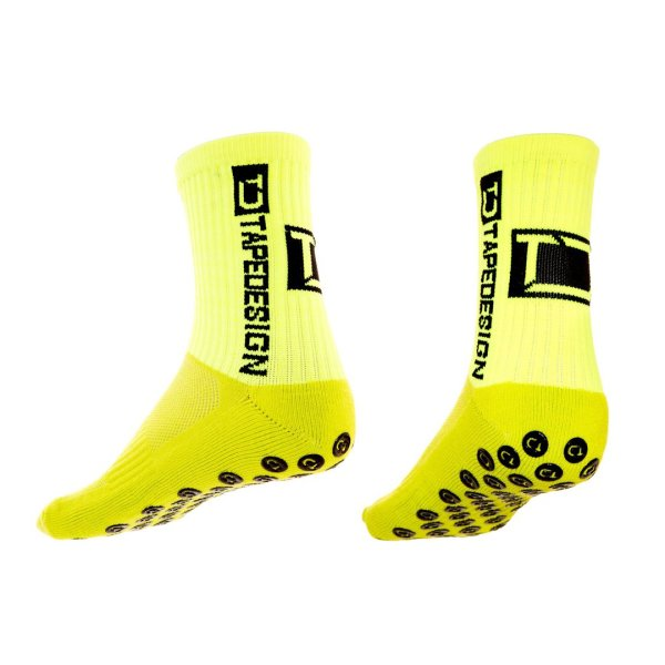 TAPEDESIGN ALLROUND SOCKS CLASSIC onesize (37-48) neon-gelb