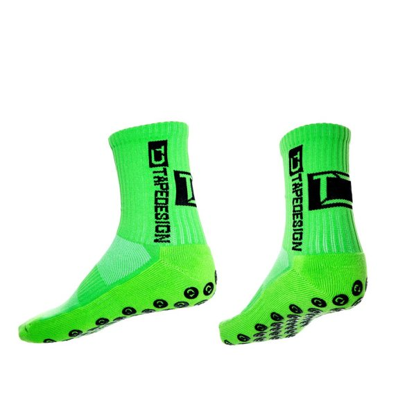 TAPEDESIGN ALLROUND SOCKS CLASSIC onesize (37-48) neon-grün