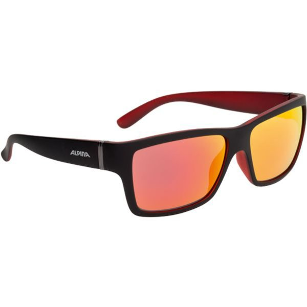 ALPINA SONNENBRILLE KACEY black matt-red (A8523334) one size