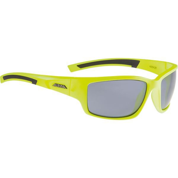 ALPINA SONNENBRILLE KEEKOR neon yellow-black (A8565.3.61) one size