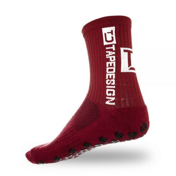 TAPEDESIGN ALLROUND SOCKS CLASSIC onesize (37-48) bordeaux-rot