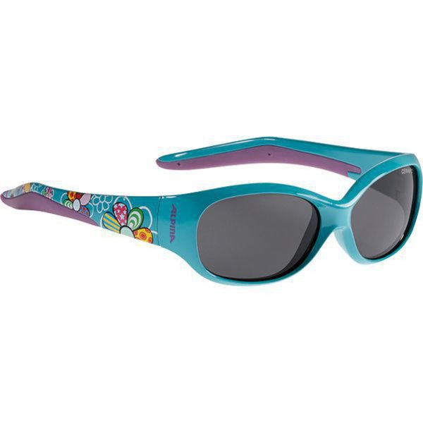 ALPINA SONNENBRILLE FLEXXY KIDS petrol flowers (A8466.4.77) one size
