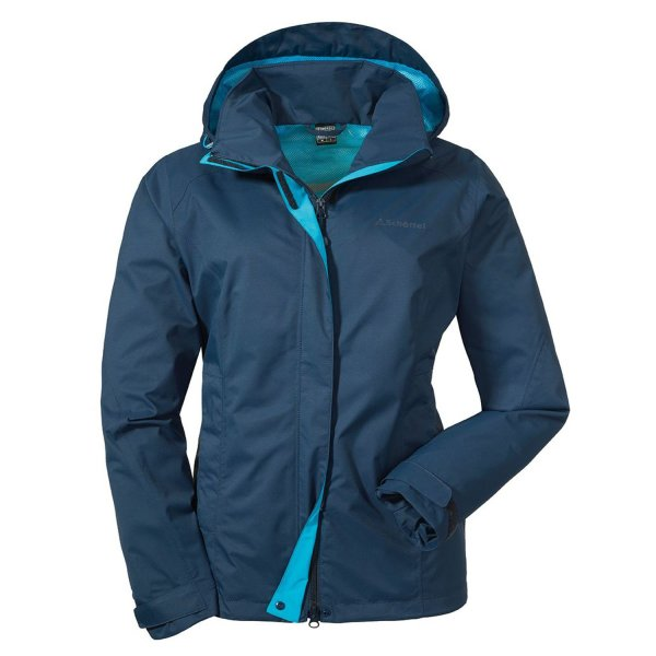 SCHÖFFEL Jacket Easy L 3 FRAUEN dress blues (12135_8180) GER/ITA - 50/56
