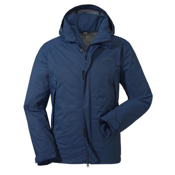 SCHÖFFEL Jacket Easy M 3 MÄNNER dress blues (22320_8180) GER/ITA 48