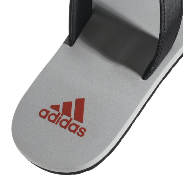 ADIDAS EEZAY FLIP FLOP core black/raw amber/grey two (B43548) EUR 40½ - UK 7