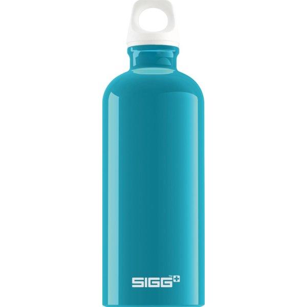 SIGG TRINKFLASCHE TRAVELLER 0.6L fabulous aqua (8447.10)