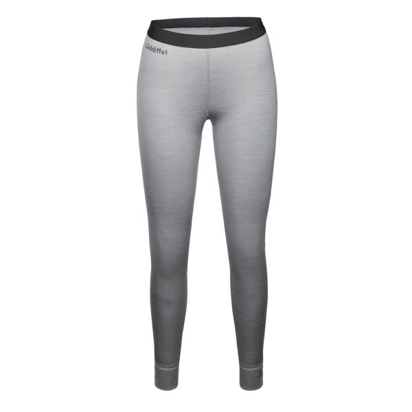SCHÖFFEL MERINO SPORT FUNKTIONS HOSE lang FRAUEN light grey (11344_9645) L