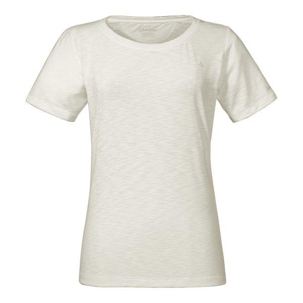 SCHÖFFEL T-Shirt Verviers2 FRAUEN cloud dancer (11946_1180) GER/ITA - 44/50