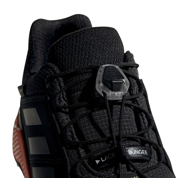 ADIDAS TERREX GTX K SCHUHE KINDER core black/carbon/true orange (BC0598) EUR 36 - UK 3½