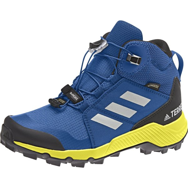 ADIDAS TERREX GTX K SCHUHE KINDER blue beauty/grey one/shock yellow (BC0596) EUR 33 - UK 1