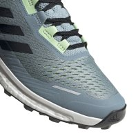 ADIDAS TERREX AGRAVIC FLOW W SCHUHE FRAUEN ash grey/core black/glow green (G26099) EUR 38²/3 - UK 5½