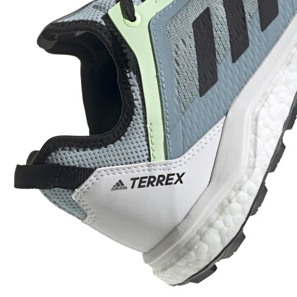 ADIDAS TERREX AGRAVIC FLOW W SCHUHE FRAUEN ash grey/core black/glow green (G26099) EUR 40 - UK 6½