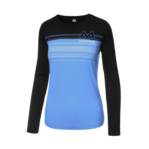 MARTINI SHIRT PULSE DAMEN cloud/black (011-3100_1224/10)