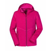 SCHÖFFEL Fleece Hoody Vaduz2 KIDS pink Yarrow (40093_3030) 128
