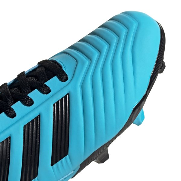 ADIDAS PREDATOR 19.3 FG J FUSSBALLSCHUHE JUNIOR bright cyan/core black/solar yellow (G25796) EUR 28 - UK 10K